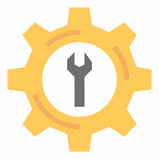 gear, tool, work icon