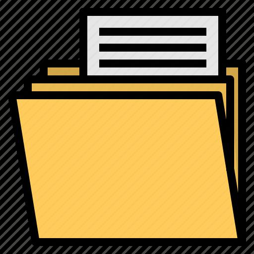 Folder, archive, file icon
