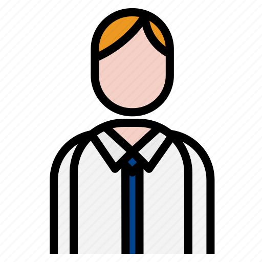 business, consulant, man, work icon