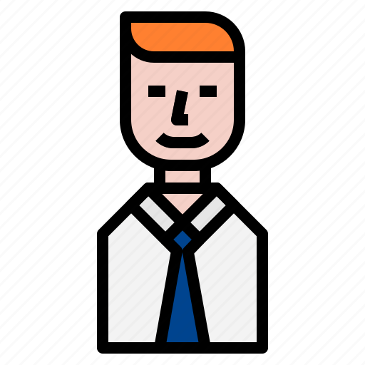 avatar, business, businessman icon