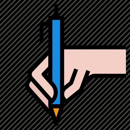 contract, pen icon