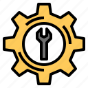 gear, tool icon