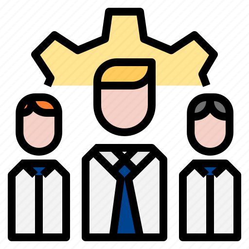 gear, team, teamwork icon