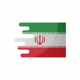 country, flag, group b, iran, team icon