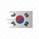 country, flag, group f, korea, republic, team icon