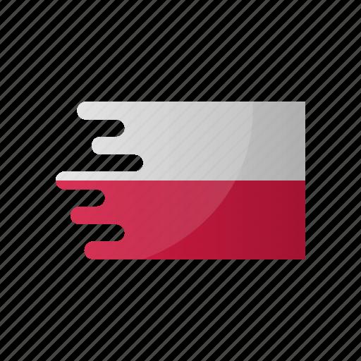 country, flag, group h, poland, team icon
