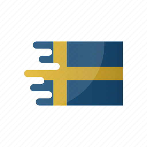 country, flag, group f, sweden, team icon
