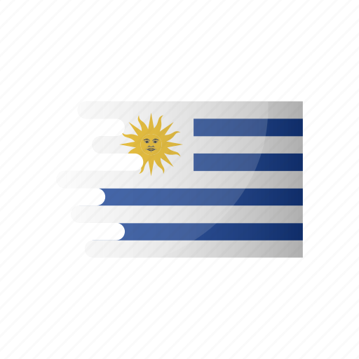 country, flag, group a, team, uruguay icon