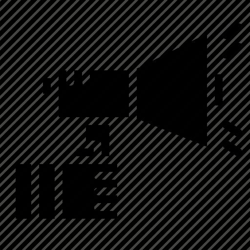 Bullhorn, loudspeaker, megaphone, promotion icon - Download on Iconfinder