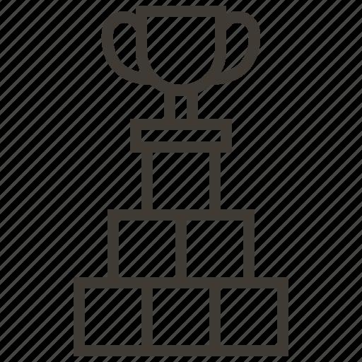 business, organization, prize, strategy, teamwork, winner icon