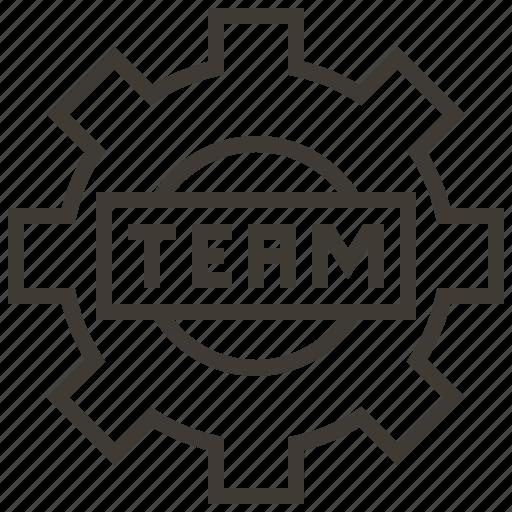 analytics, business, finance, organization, strategy, team, teamwork icon