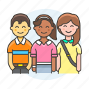 crew, group, teams, teamwork, full, collaboration, cooperate, coworker icon