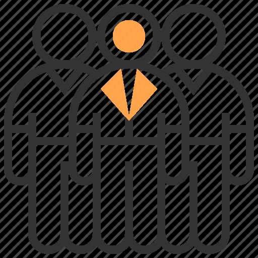brainstorm, business, organization, people, person, team, teamwork icon