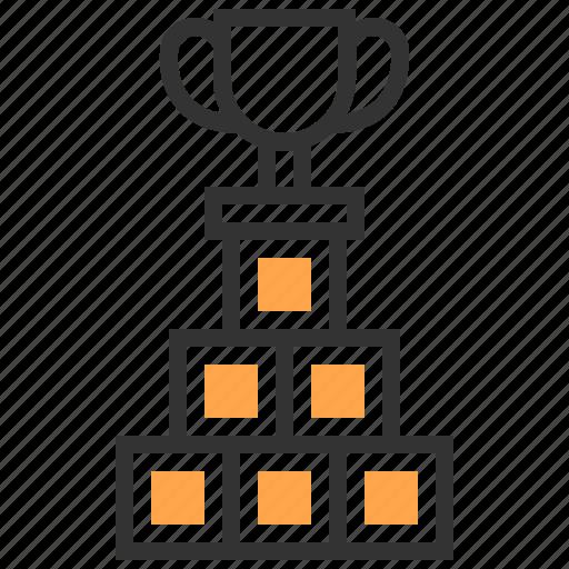 business, marketing, organization, prize, team, teamwork, winner icon