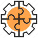 brainstorm, business, idea, organization, solution, team, teamwork icon