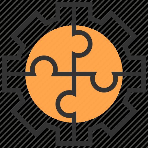 brainstorm, business, idea, organization, solution, team, teamwork icon