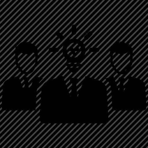 brainstorming, business ideas, teamwork icon