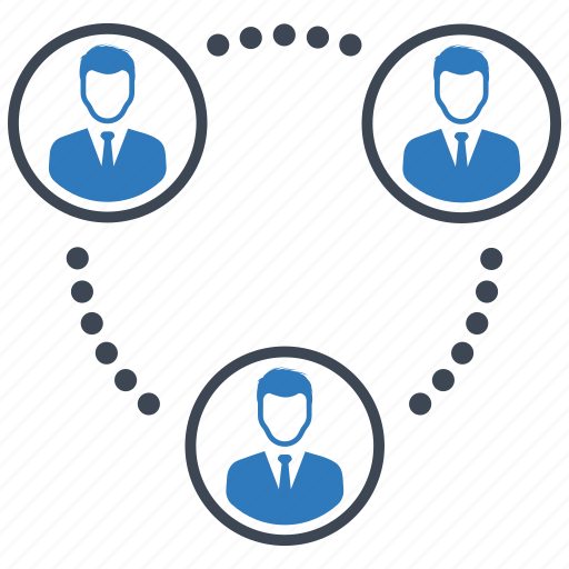 communication, connection, teamwork icon