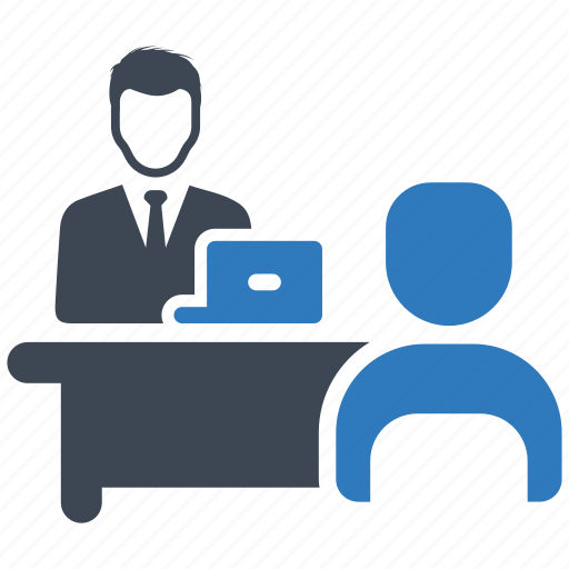 job interview, meeting, teamwork icon