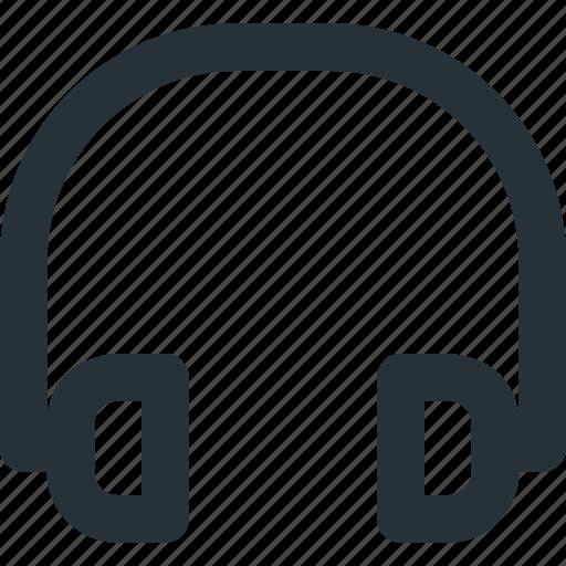 device, headphones, headset, media, music, sound icon