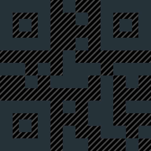 code, encoding, encription, phone, qr, scan, tech icon