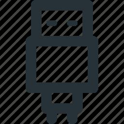 communication, data, plug, transfer, usb icon