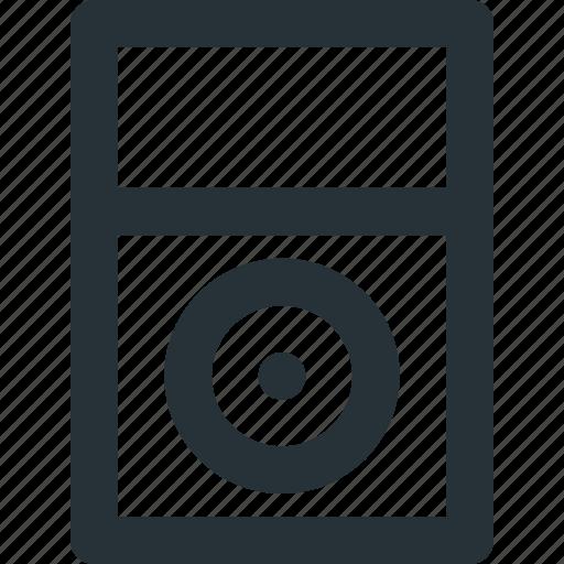 device, ipod, media, music, sound icon