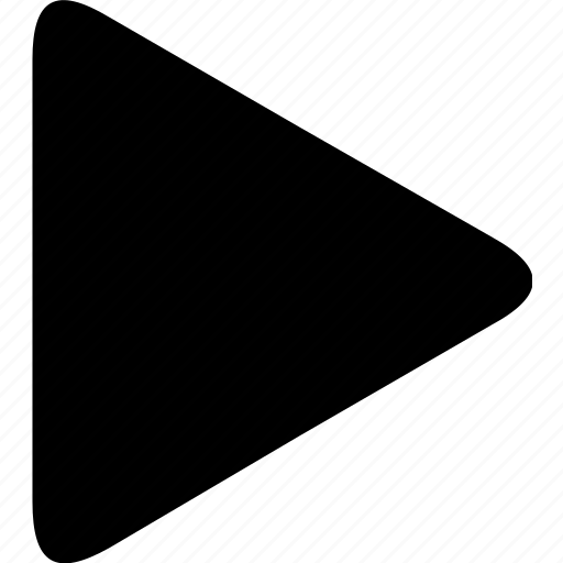 arrow, forward, go, navigation, play, video, view icon