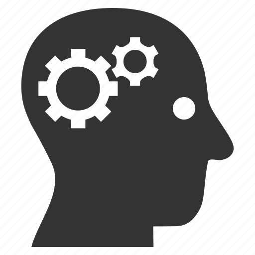 brain details, head, human, idea, mind, neurology, think icon