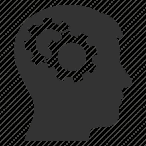 brain, innovation, intelligence, memory, mental, psychology, strategy icon