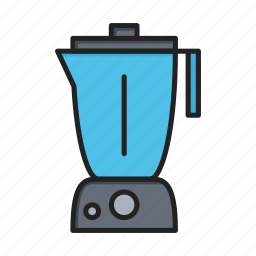 blender, electric, kitchen, mixer icon