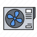 air, air conditioning, conditioning icon