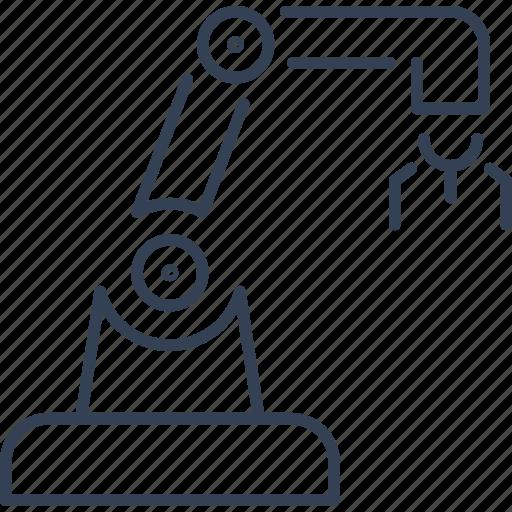 crane, machine, technique, technology icon