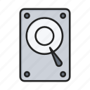data, hard, hd, storage icon