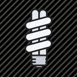 bulb, energysaver, light, lightbulb icon