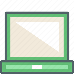 computer, device, hardware, laptop, pc, screen, technology icon
