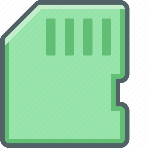card, disk, memory, memory card, sd, sd-card, storage icon