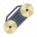 music, radio, technology icon