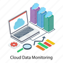 cloud computing, cloud device, cloud hosting, cloud monitoring, cloud technology icon