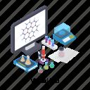 lab application, lab software, medical lab, online lab, virtual lab icon