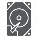 device, disk, drive, hard, hdd, storage, technology icon