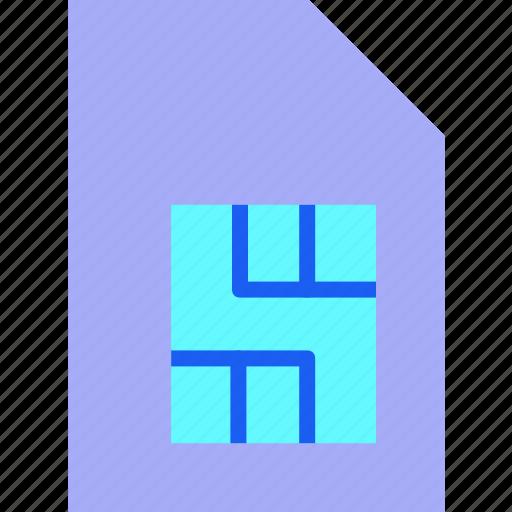 Chip, memory, microchip, mobile, phone sim, sim, sim card icon - Download on Iconfinder