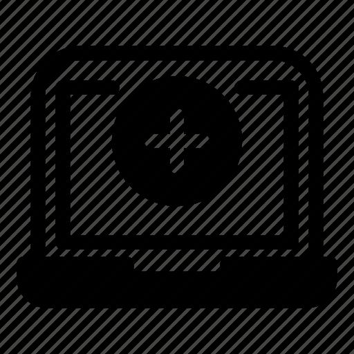 Computer, desktop, laptop, monitoraddplus icon - Download on Iconfinder