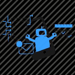 personal, assistant, robot, ai, plan, calendar, notification