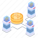 digital currency, bitcoin business, online business, bitcoin data, blockchain business icon