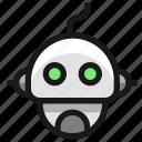 robot, head