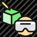 box, user, vr