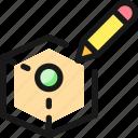 3d, pen, draw, box