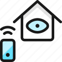 smart, house, eye