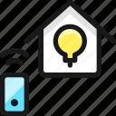 smart, house, light